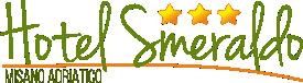 Hotel Smeraldo – Misano Adriatico, tre stelle luccicanti sulla riviera romagnola Logo